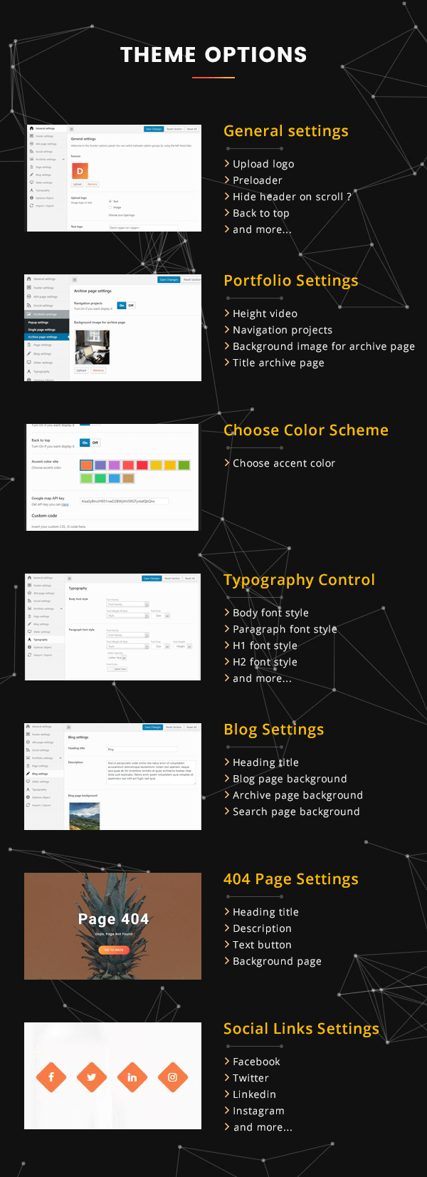 Domior - Creative Personal Portfolio WordPress Theme
